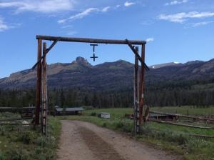 t cross ranch entrance
